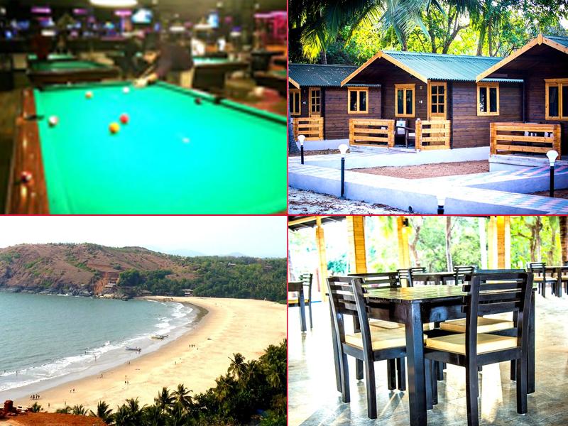 Kudle beach, gokarna resorts