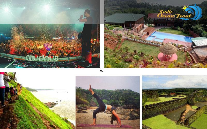 kudle beach resort, gokarna hotels, beach side stay in gokarna